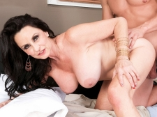 Rita bonks her son's big-dicked friend