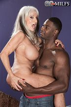 Sally takes on Jax Black's larger than standard cock