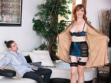 Diamond is 64. The ladies man she is screwing is Twenty four.