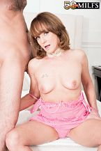 For starters, Cyndi screws the delivery boy