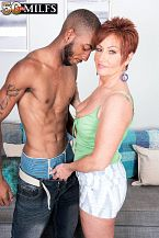 Young, dark-skinned meat-thermometer for SEXY HOUSEWIFE Ruby O'Connor